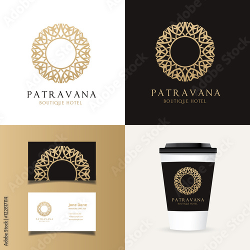 luxury logo and corporate identity template business stationery