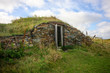 Root cellar made from earth and stones