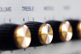 treble knob on guitar amplifier