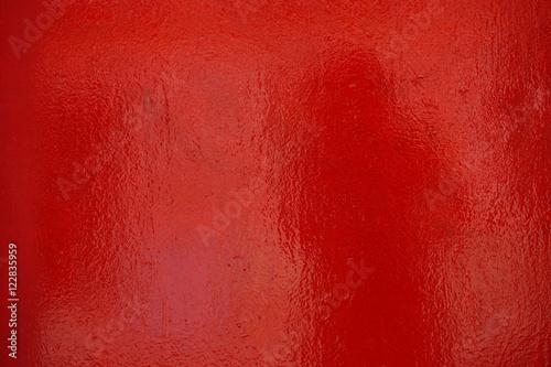 fototapeta na ścianę Glänzende rote Oberfläche