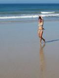 Passi di danza in riva al mare - felicità