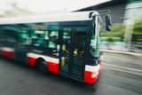 Bus of the public transport
