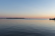 Sea at sunset, Spinnakers Landing, Summerside, Prince Edward Isl