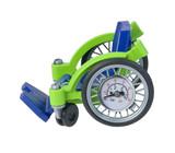 Wheelchair with Air Pressure Gauge
