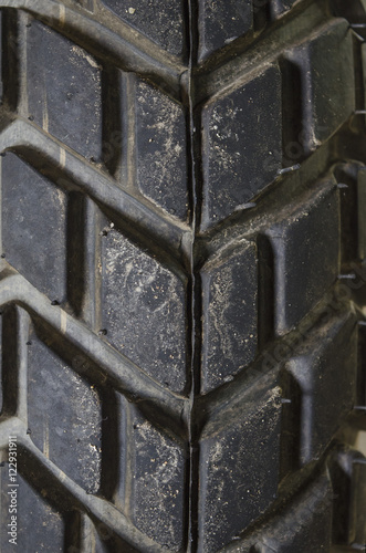 Motocross Bike tire - Details Poster