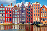 Fototapety Houses in Amsterdam