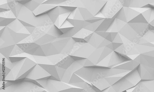 Polygon background texture - 122951596