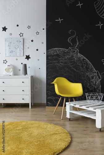 Cosmic room design idea