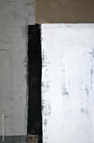 Neutral Abstract Art Painting - 122968375