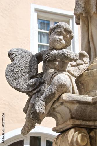 Poster Piccole sculture in granito