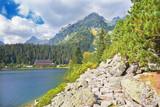 High Tatras - Popradske Pleso lake with the Chalet