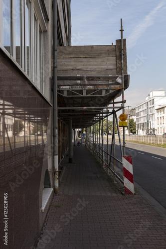 Poster Baustelle Frankfurt am Main