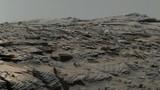 Cross-bedded sandstone on Mars