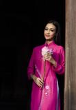 Pretty young Vietnamese woman