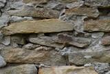 Стена из дикого камня