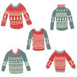 Fototapety ugly sweaters