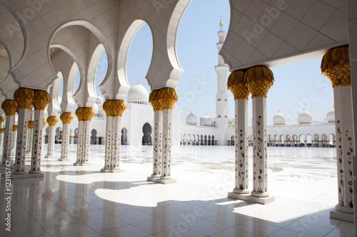 Aluminium Abu Dhabi Sheikh Zayed Grand Mosque