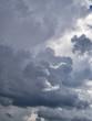 Rainy, cloudy sky background vertical