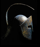 Ancient Greek Sparta Style Helmet