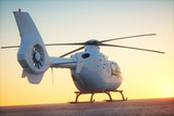 Helicopter Sunset Ground 2