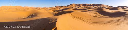 Staande foto Marokko Sahara desert in Morocco