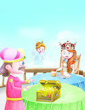 King, princess and the message of god