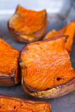 baked pumpkin piece