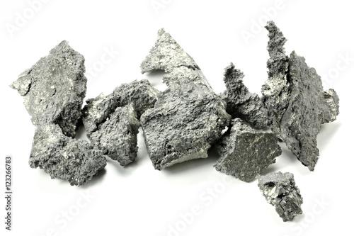 Poster Yttrium isoliert auf weißem Hintergrund