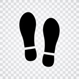 shoes print icon