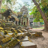 Ta Prohm Temple ancient ruins, Angkor
