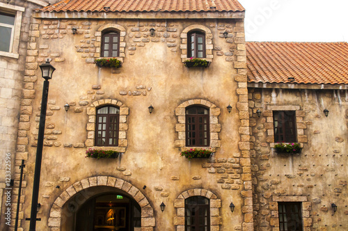 Poster Medieval house