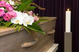 Coffin in morgue - 123340113