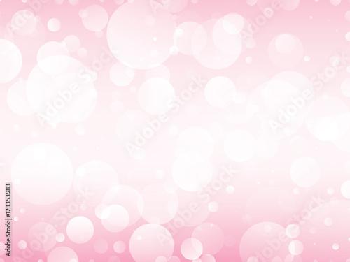tło różowe koła