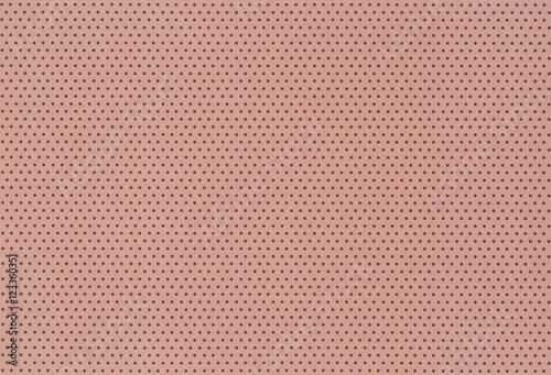 Staande foto Leder Brauner Hintergrund mit Punktmuster