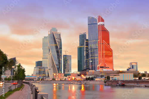 Moscow City Business Center, Russia