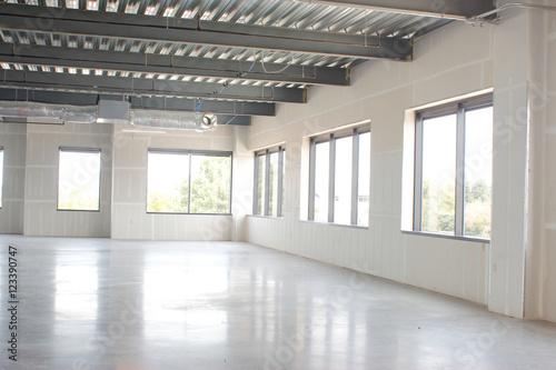 Staande foto Industrial geb. New empty office space