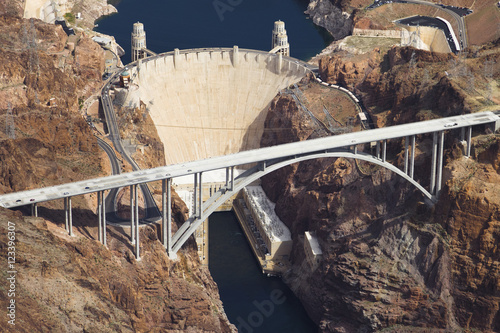 Hoover Dam & Bridge Poster