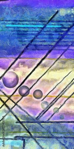 Obraz Abstract digital painting