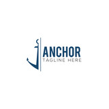 Anchor Creative Concept Logo Design