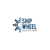 Ship Wheel Creative Concept Logo Design