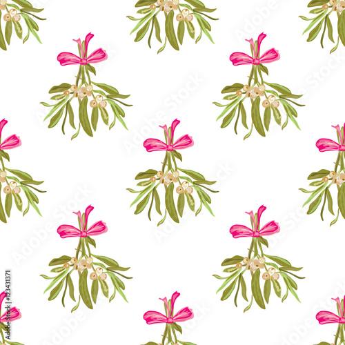 Cotton fabric seamless pattern