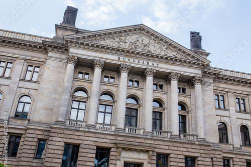 Foto op Plexiglas Berlijn Berliner Innenstadt, Bundesratsgebäude an der Leipziger Strasse
