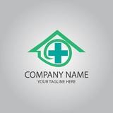 home medical symbol logo