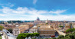 Rome and Basilica of St. Peter in Vatican