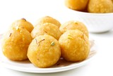 Laddu / Ladoo -popular  Indian sweet made of Chickpea flour