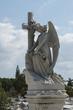 Постер, плакат: Kuba Havanna Friedhof Necropolis Cristobal Colon Engel