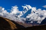Himalaya Inspirational Landscape, Ama Dablam Mountain in Nepal