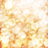 Happy Thanksgiving background. Autumn blur background abstract.