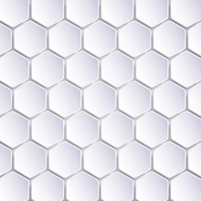 Abstract Hexagon Mosaics Background