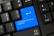 Consumer Behavior Analysis - PC Button. 3D.